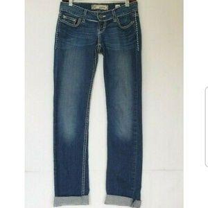 BKE Womens Sabrina Skinny Jeans 25 X 32
